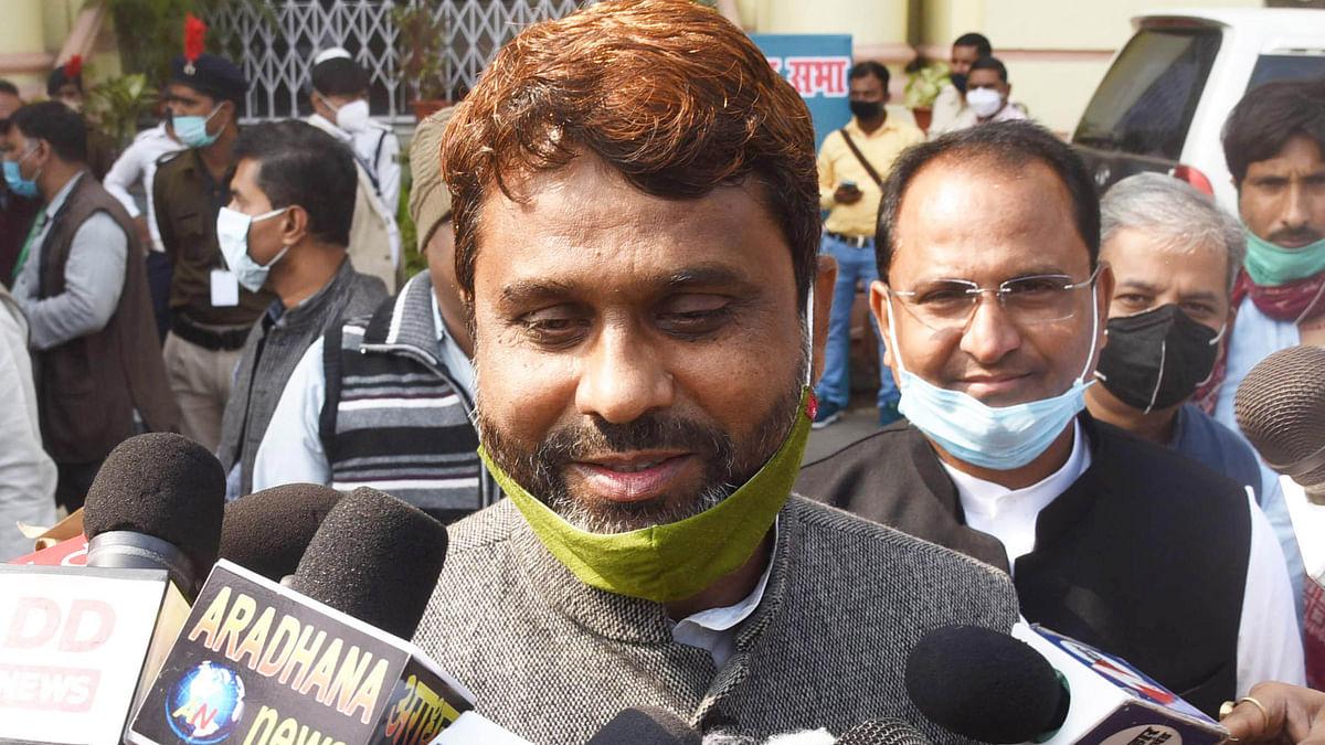 اخترالایمان نے حلف برداری کے دوران 'ہندوستان' لفظ پر کیا اعتراض، بہار اسمبلی میں ہنگامہ
