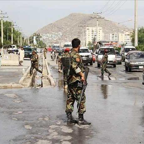 افغان سیکورٹی فورس، تصویر یو این آئی