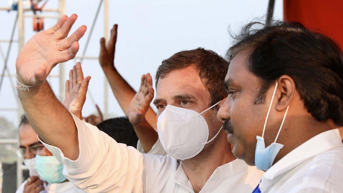 بہار انتخاب: راہل گاندھی نے شرد یادو کی بیٹی کے لیے مانگا ووٹ، مودی-نتیش پر کیا حملہ