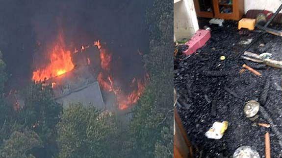 کشمیر: بڈگام میں آگ کا ہولناک واقعہ، شیعہ عالم آغا عبدالحسین کا رہائشی مکان تباہ، خود بھی زخمی
