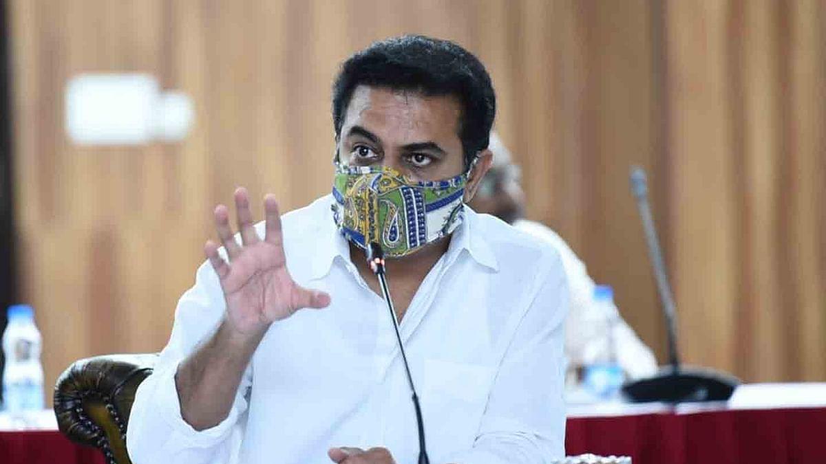 تلنگانہ: وزیر تارک راما راؤ کے قافلہ کو روکنے کی کوشش، اے بی وی پی کارکنوں پر لاٹھی چارج