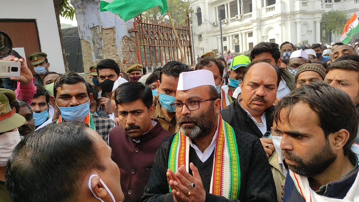 اجے کمار للو، تصویر اترپردیش کانگریس