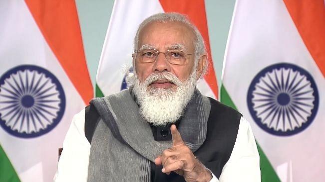 وزیر اعظم نریندر مودی / تصویر آئی اے این ایس
