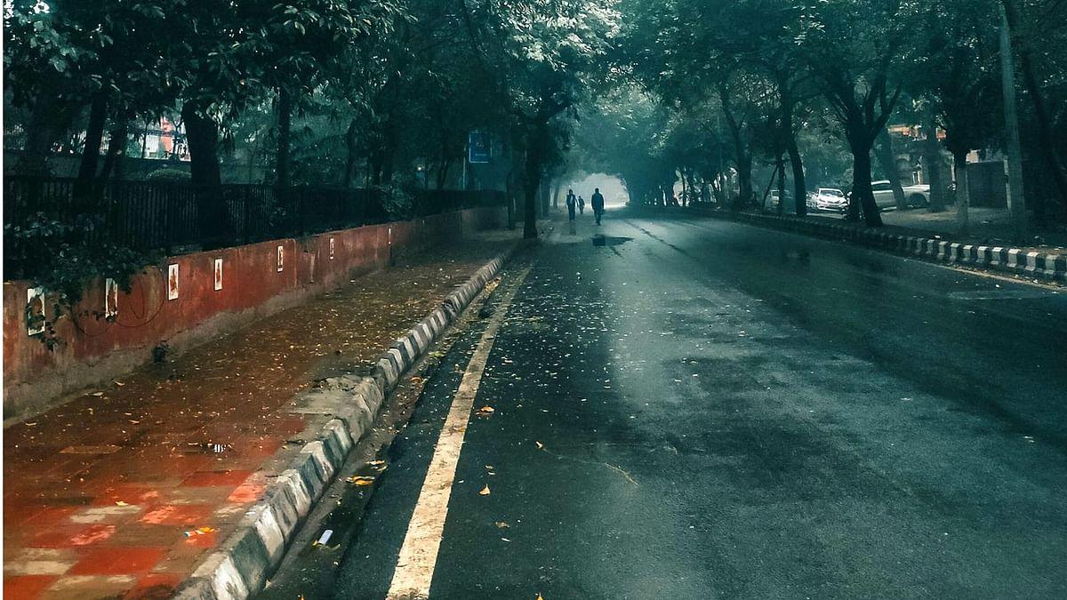 دہلی-این سی آر میں ہلکی بارش، دھند کا خاتمہ، سردی میں اضافہ