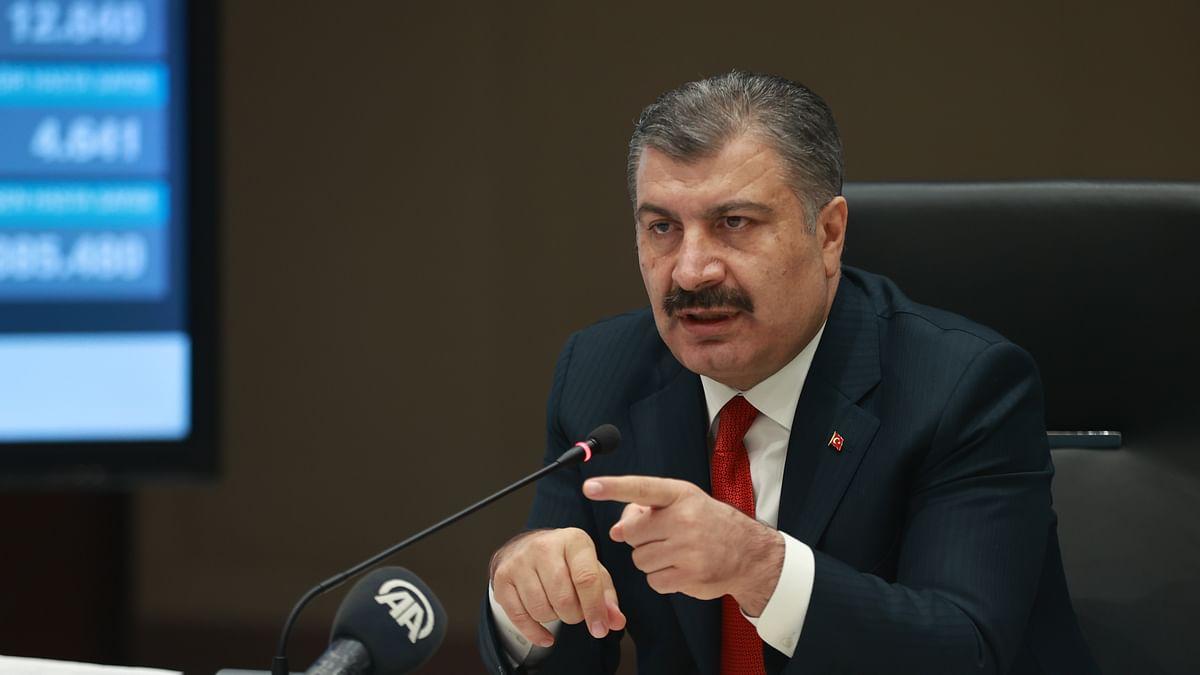 ترکی کو 11 دسمبر کے بعد کورونا ٹیکے کی پہلی کھیپ حاصل ہوگی: وزیرِ صحت