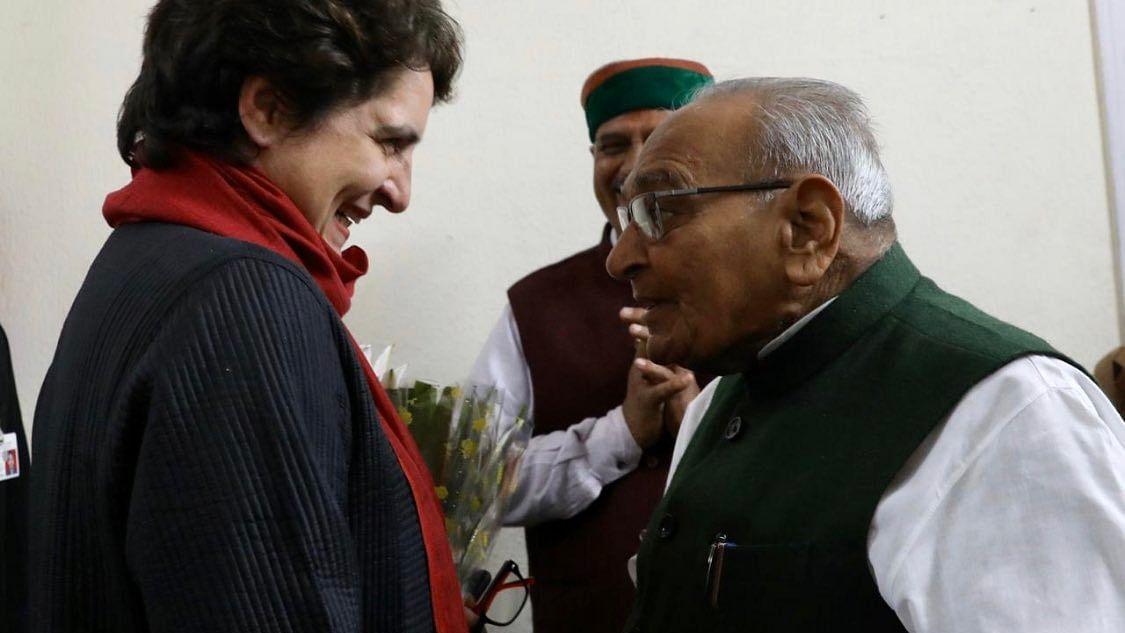 موتی لال وورا، ہم سب بہت یاد کریں گے... پرینکا گاندھی