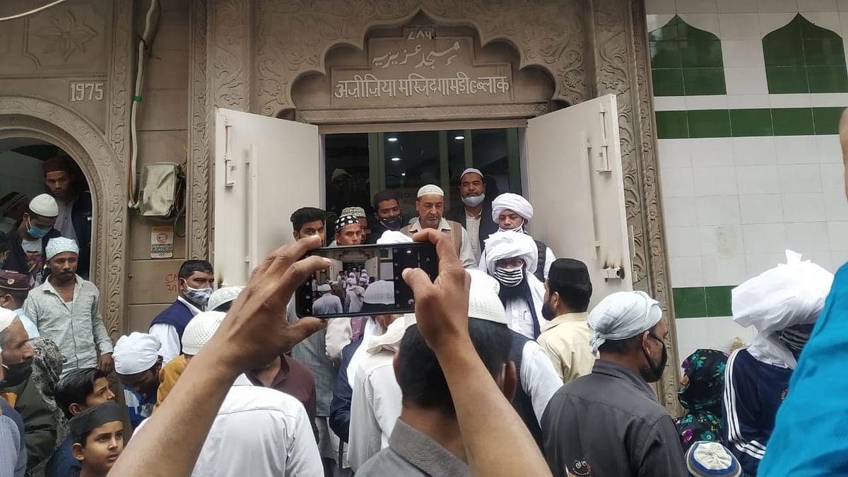 دہلی فساد میں تباہ 'عزیزیہ مسجد' دوبارہ ہوئی آباد، بھجن پورہ کے مسلمانوں میں خوشی