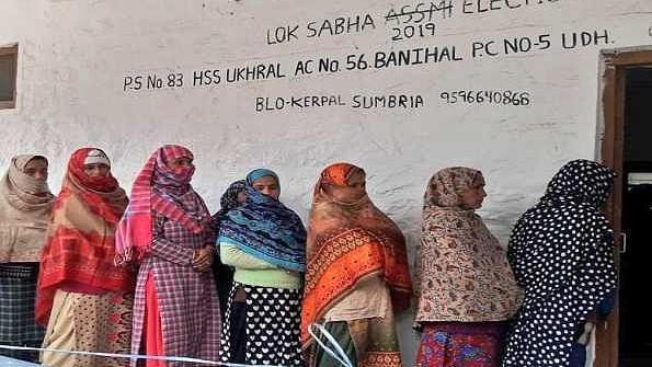 جموں و کشمیر ڈی ڈی سی انتخابات، صبح 9 بجے تک 8.16 فیصد ووٹنگ ریکارڈ