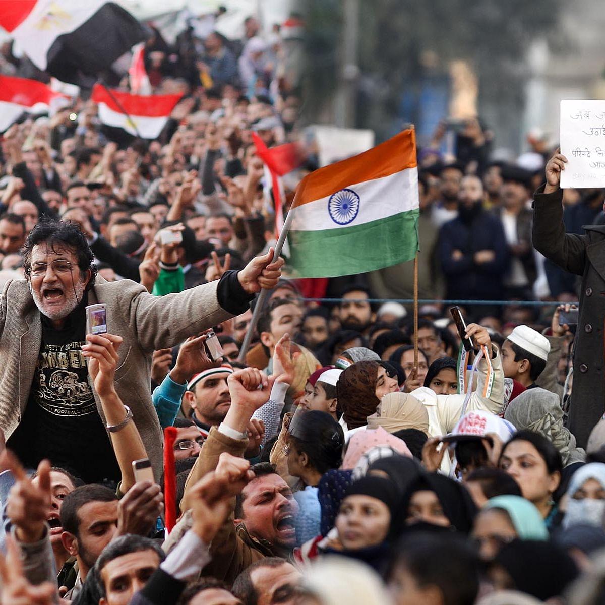 عرب بہار اور شاہین باغ / Getty Images