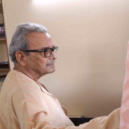 شمس الرحمن فاروقی کی ایک فائل تصویر