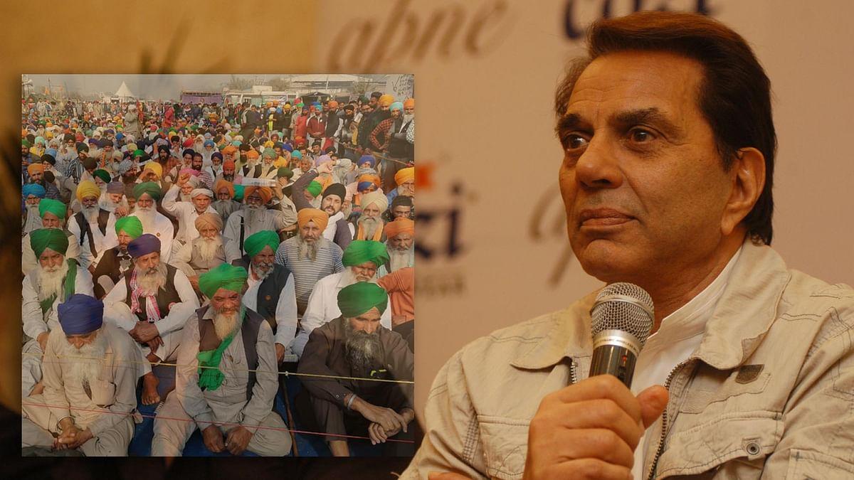 فلم اداکار اور سابق رکن پارلیمنٹ دھرمیندر / تصویر Getty Images and IANS