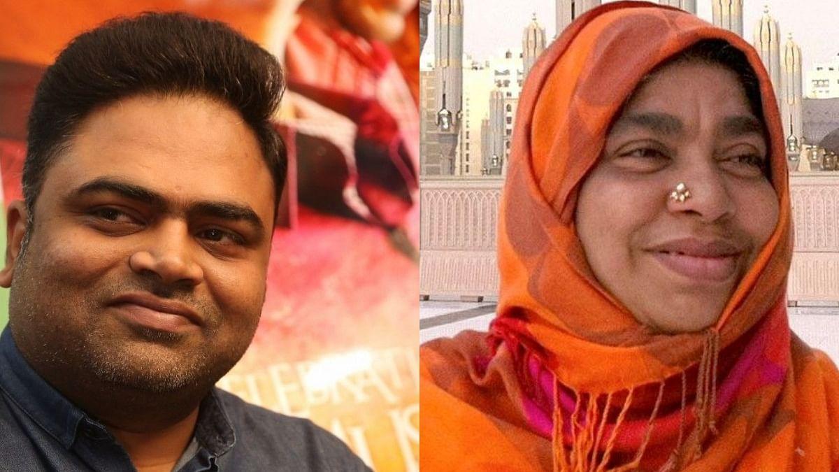 اے آر رحمن اور کریمہ بیگم، تصویر ٹوئٹر @arrahman