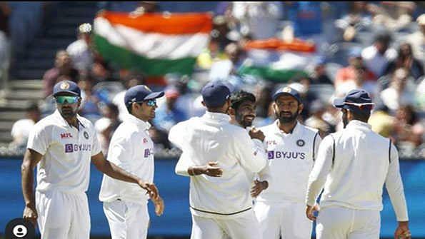 آسٹریلیا کو 100 ویں ٹیسٹ میچ میں شکست دے کر ہندستان نے کی برابری