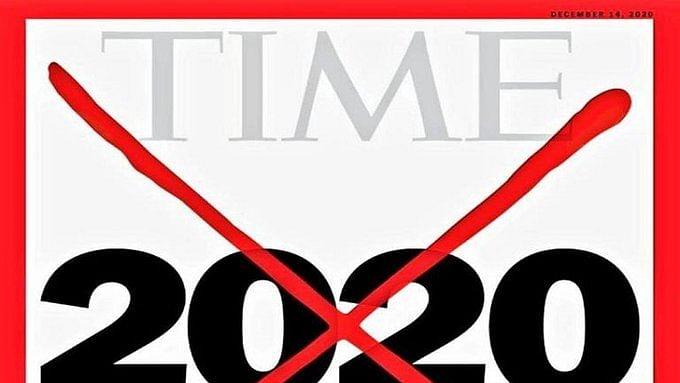 'ٹائم' میگزین نے سال '2020' پر لگایا 'ریڈ کراس'، 100 سال میں یہ پانچواں موقع
