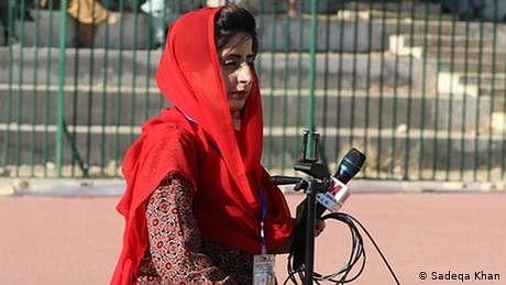 بلوچستان کی پہلی سپورٹس جرنلسٹ