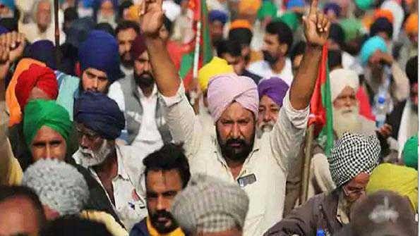 راجدھانی دہلی میں کسانوں کی تحریک 41 ویں روز بھی جاری