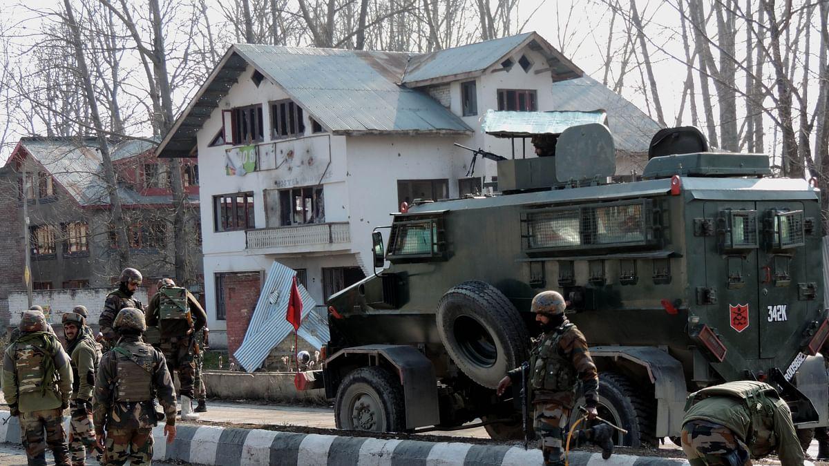 لاوے پورہ تصادم: سری نگر کے بیشتر علاقوں میں ہڑتال