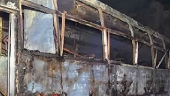 راجستھان: بس میں کرنٹ سے آگ لگنے کے سبب 6 افراد ہلاک، سی ایم گہلوت اور پی ایم مودی کا اظہار تعزیت