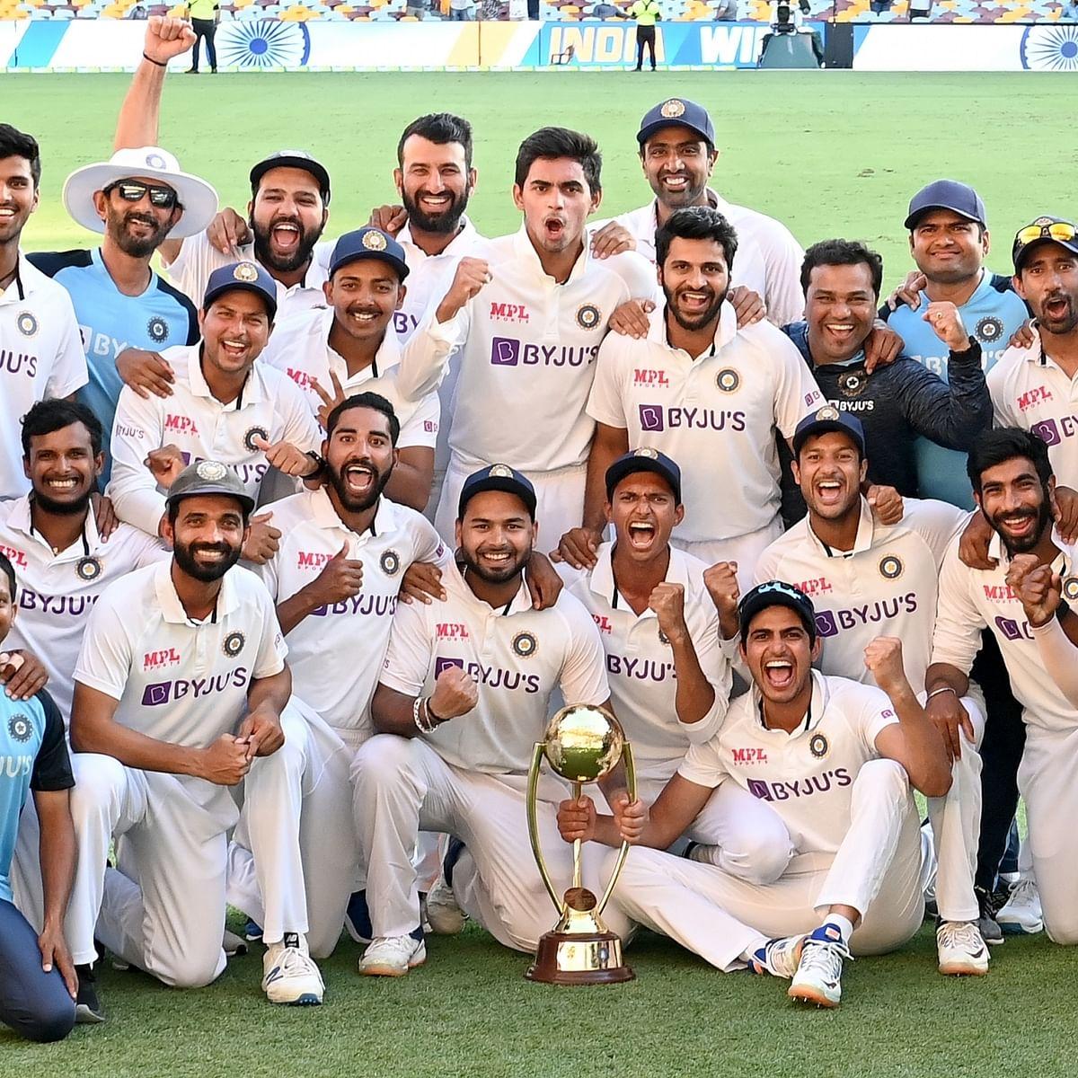 ہندوستانی ٹیم، تصویر آئی اے این ایس