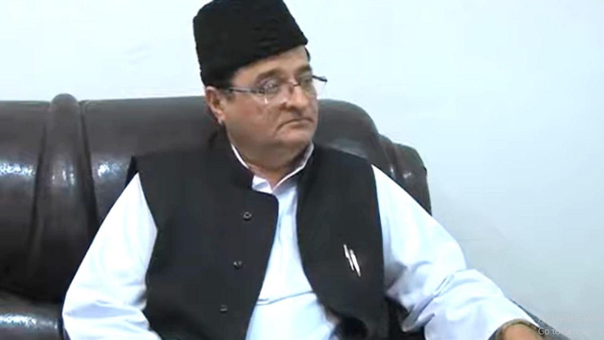سماجوادی پارٹی لیڈر اور مراد آباد سے رکن پارلیمنٹ ایس ٹی حسن / تصویر ویڈیو گریب