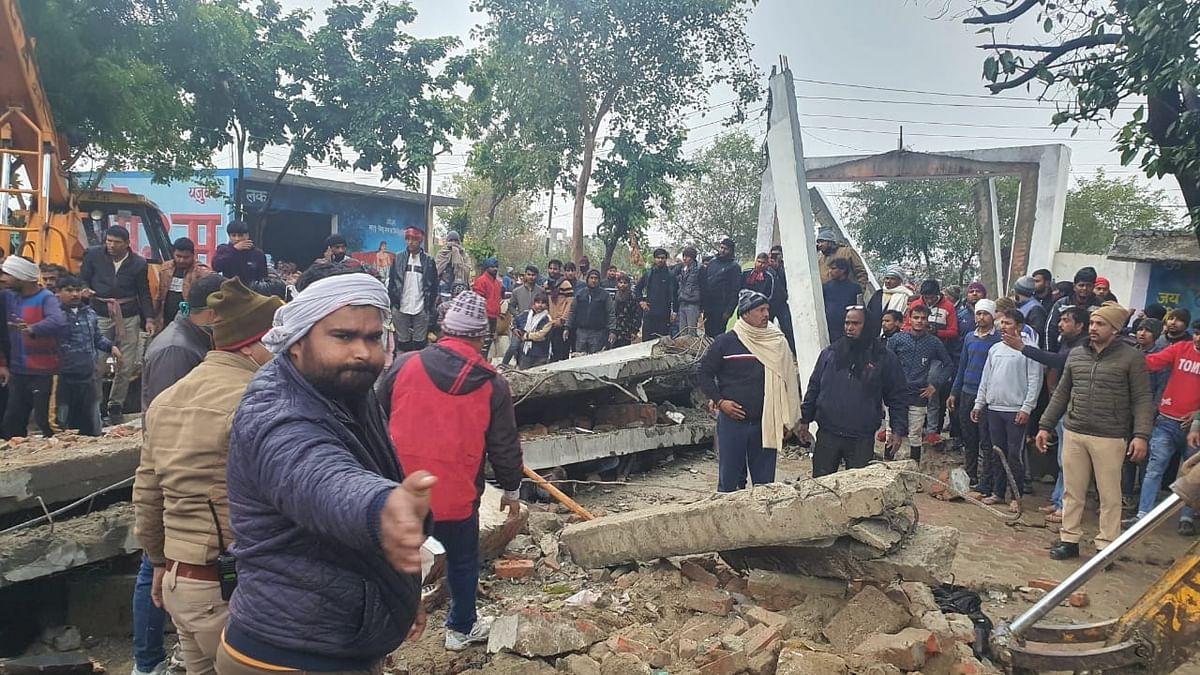 مرادنگر حادثہ: مہلوکین کے اہل خانہ سے ایس پی-عآپ لیڈران کی ملاقات