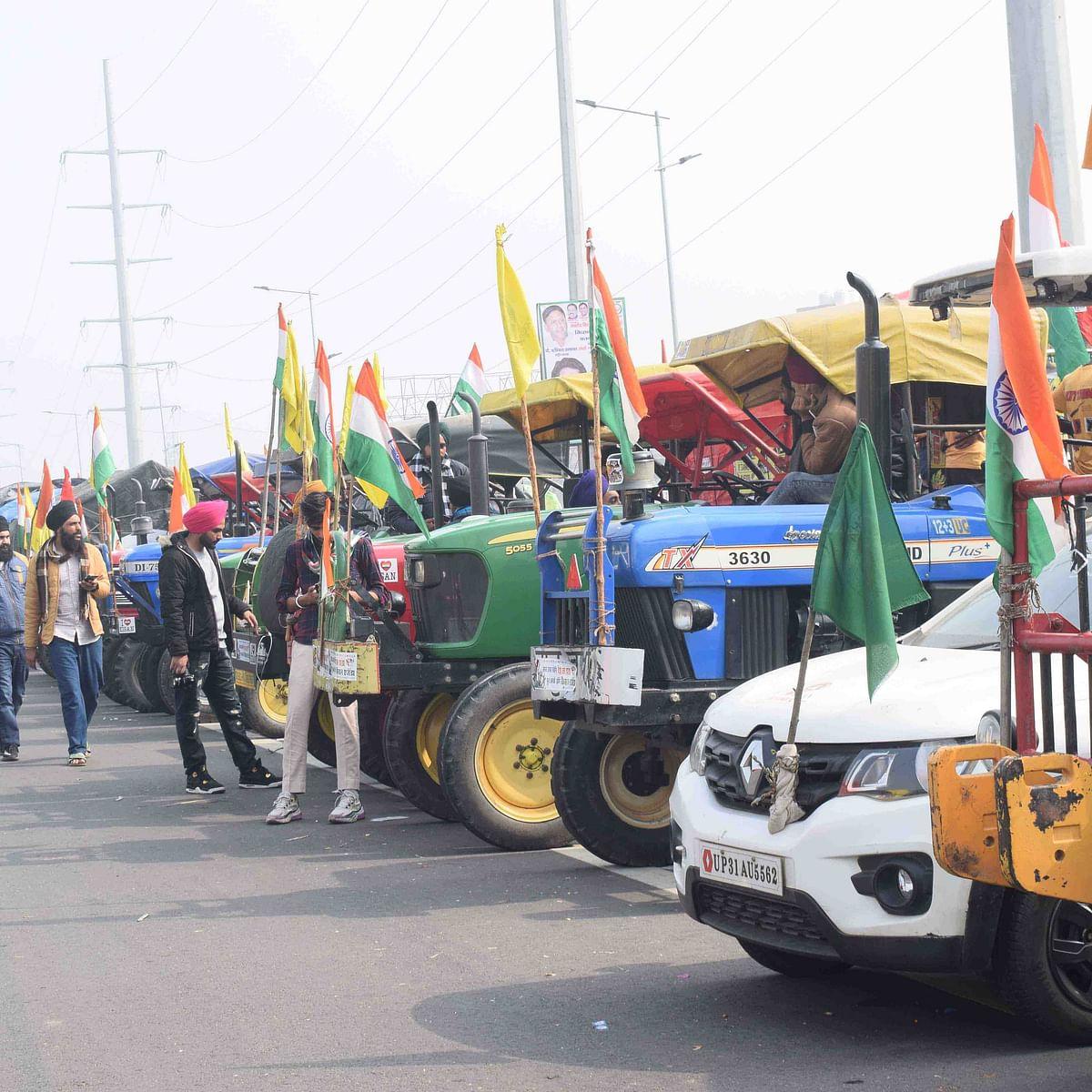کسان ٹریکٹر پریڈ / UNI