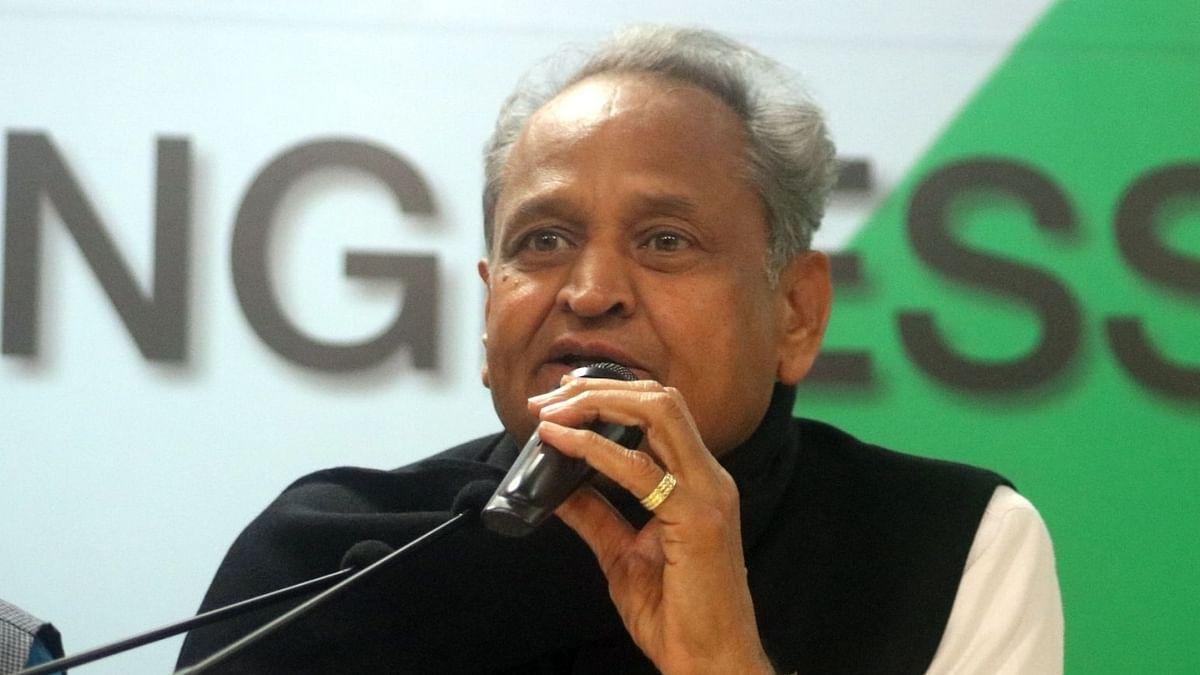راجستھان کے وزیر اعلیٰ اشوک گہلوت/ IANS