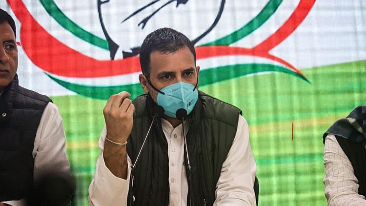راہل گاندھی، تصویر @INC