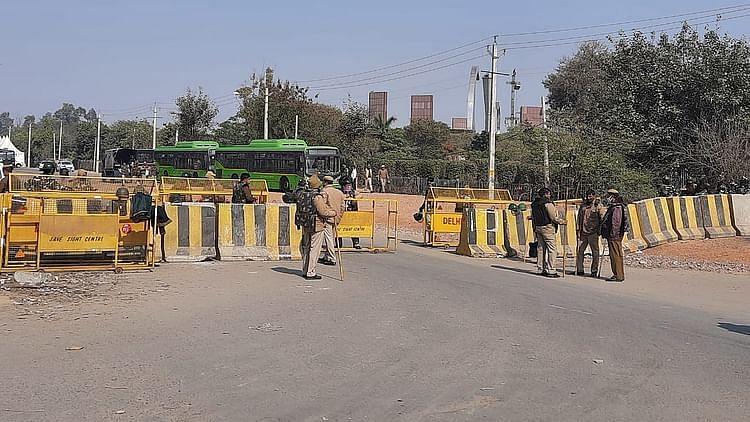 کسان تحریک: سنگھو بارڈر ایک ناقابل تسخیر قلعہ میں تبدیل، چپے چپے کی سخت نگرانی
