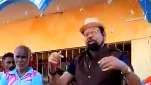بی جے پی رکن اسمبلی نے الیکشن کمیشن کا اڑایا مذاق، ویڈیو وائرل