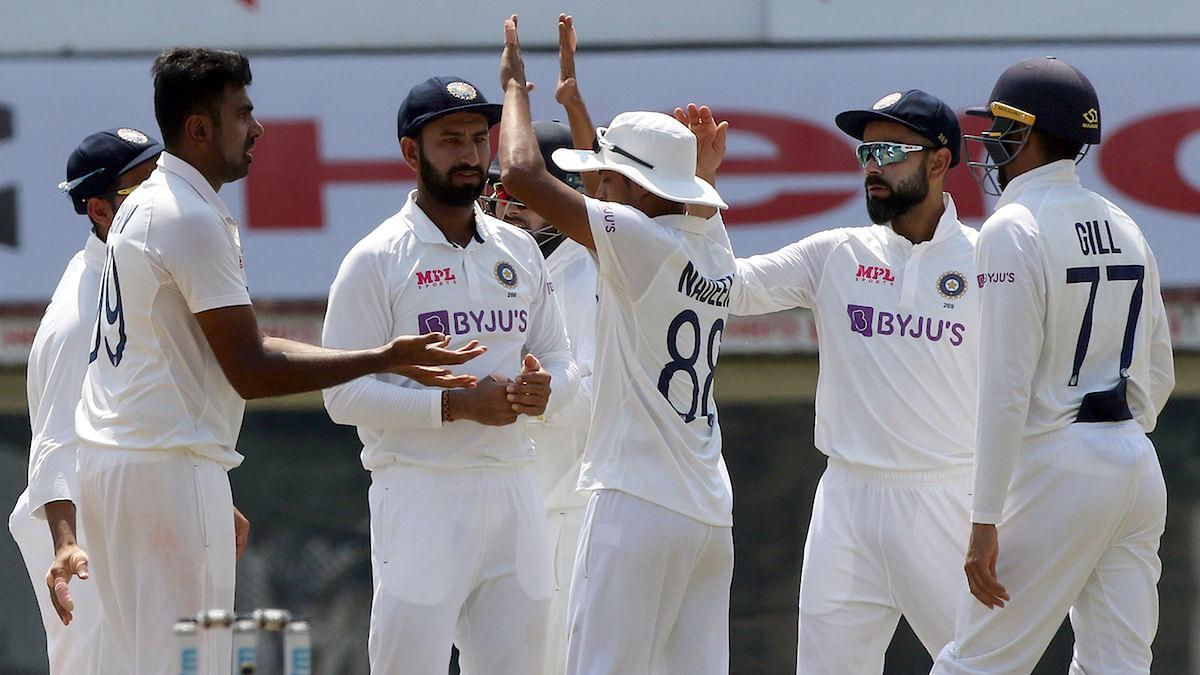 کرکٹ: ہندوستان-انگلینڈ کے درمیان پہلا ٹیسٹ میچ دلچسپ موڑ پر