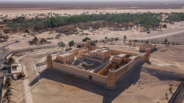 سعودی عرب کے شمال میں واقع ایک حویلی تہذیب رفتہ کی یادگار