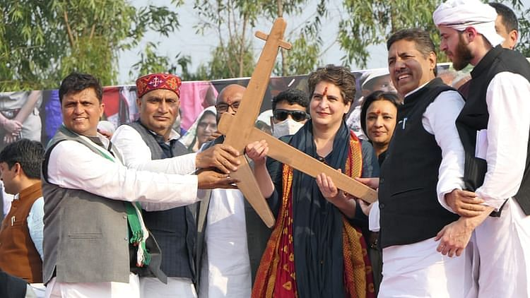 پرینکا گاندھی، تصویر ٹوئٹر @INCUttarPradesh