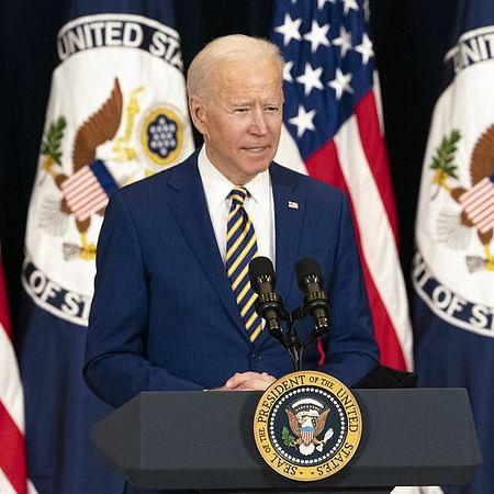 امریکی صدر جو بائیڈن / آئی اے این ایس
