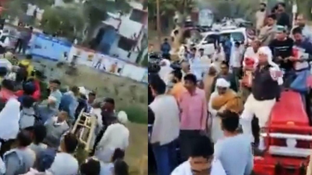 مغربی یو پی کے گاؤں میں بی جے پی لیڈروں کا داخلہ محال، کسانوں میں شدید غصہ