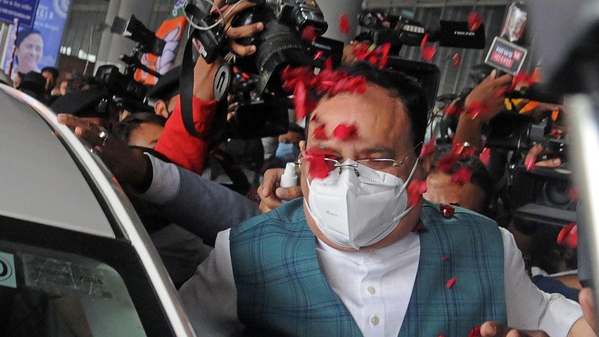 مغربی بنگال: بی جے پی قومی صدر نے 'رتھ یاترا' کا کیا افتتاح، مالدہ روڈ شو میں لگے 'جے شری رام' کے نعرہ