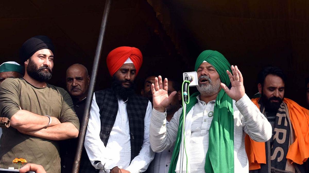 کسان تحریک اب ہر طبقے کی لڑائی بن چکی ہے: راکیش ٹکیت
