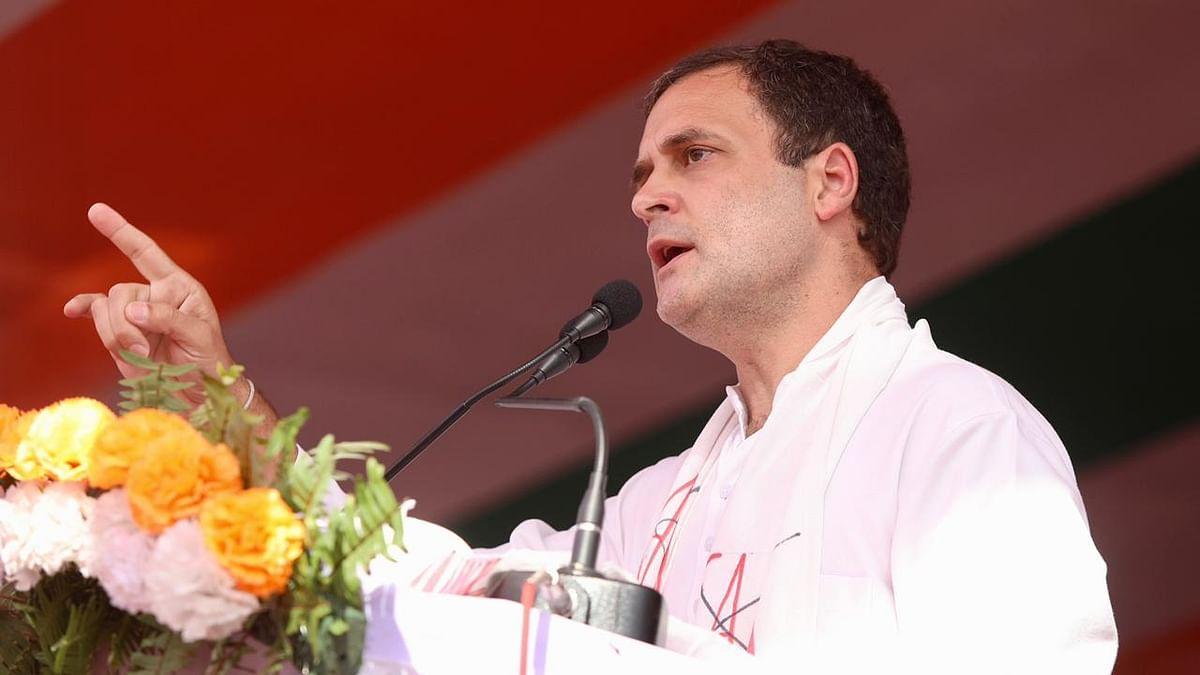 راہل گاندھی، تصویر ٹوئٹر @INCIndia