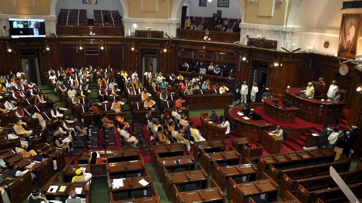 یو پی بجٹ اجلاس: گورنر آنندی بین پٹیل کی تقریر میں رام مندر، مہابھارت، رامائن اور...