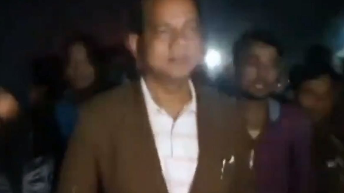 مغربی بنگال کے وزیر ذاکر حسین کی بم حملہ سے قبل کی تصویر / آئی اے این ایس
