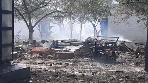 تمل ناڈو: پٹاخہ فیکٹری دھماکہ میں 11 افراد کی موت، 36 جھلسے