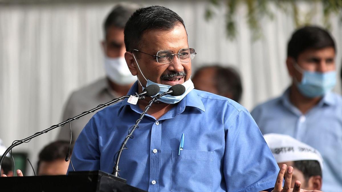 دہلی کے وزیر اعلیٰ اروند کیجریوال / آئی اے این ایس