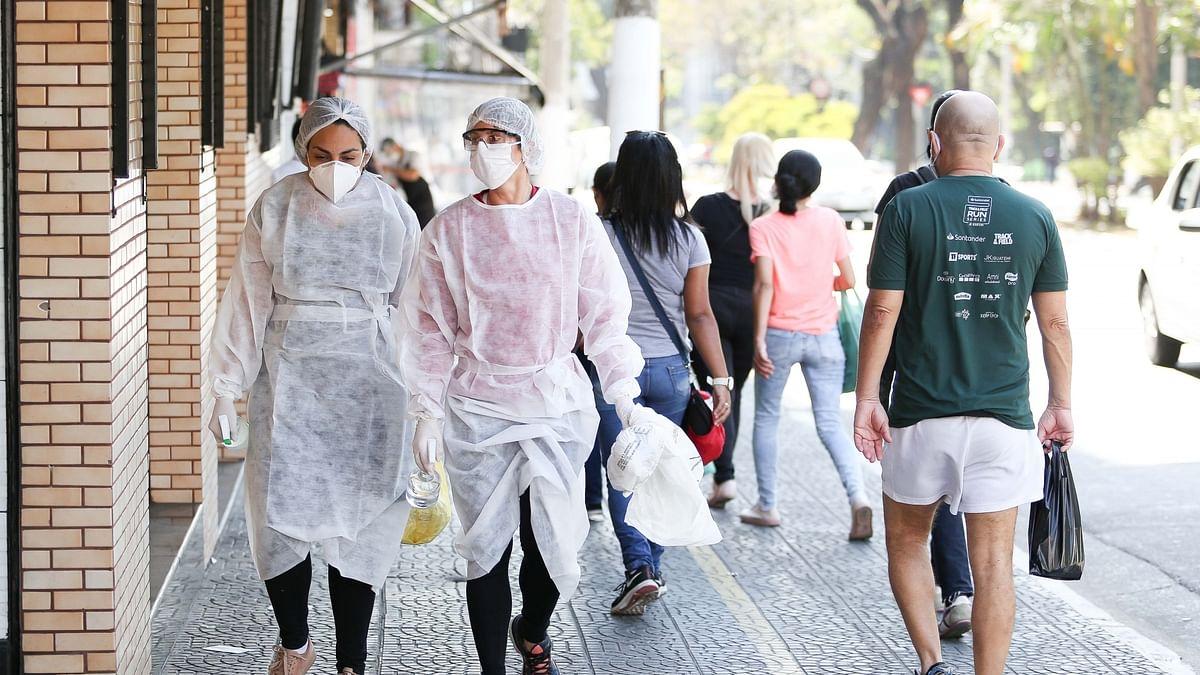 برازیل: کورونا کی نئی شکل نے مچائی تباہی، ایک دن میں 2 ہزار سے زائد افراد ہلاک