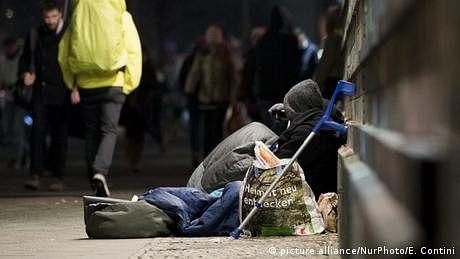 جرمنی میں گزشتہ برس کم از کم اکیس بےگھر افراد قتل کر دیے گئے