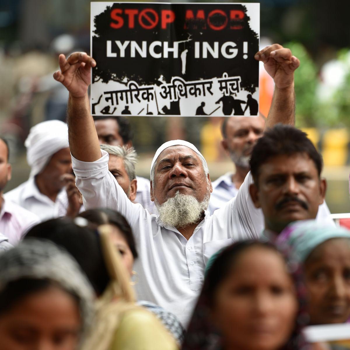 موب لنچنگ کے خلاف مظاہرہ / Getty Images