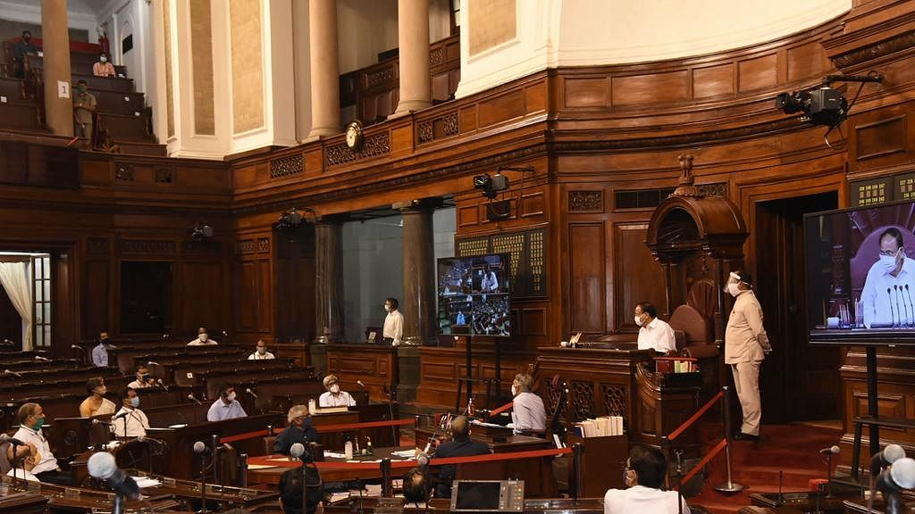 راجیہ سبھا میں آر جے ڈی نے منسوخ راشن کارڈوں کو بحالی کرنے کا کیا مطالبہ