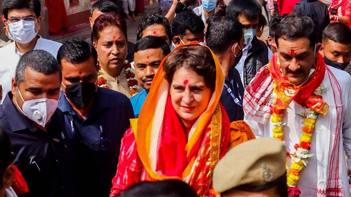 آسام: پرینکا گاندھی کی انتخابی تشہیر شروع، بے روزگاری کے خلاف ریاست گیر مہم کا آغاز