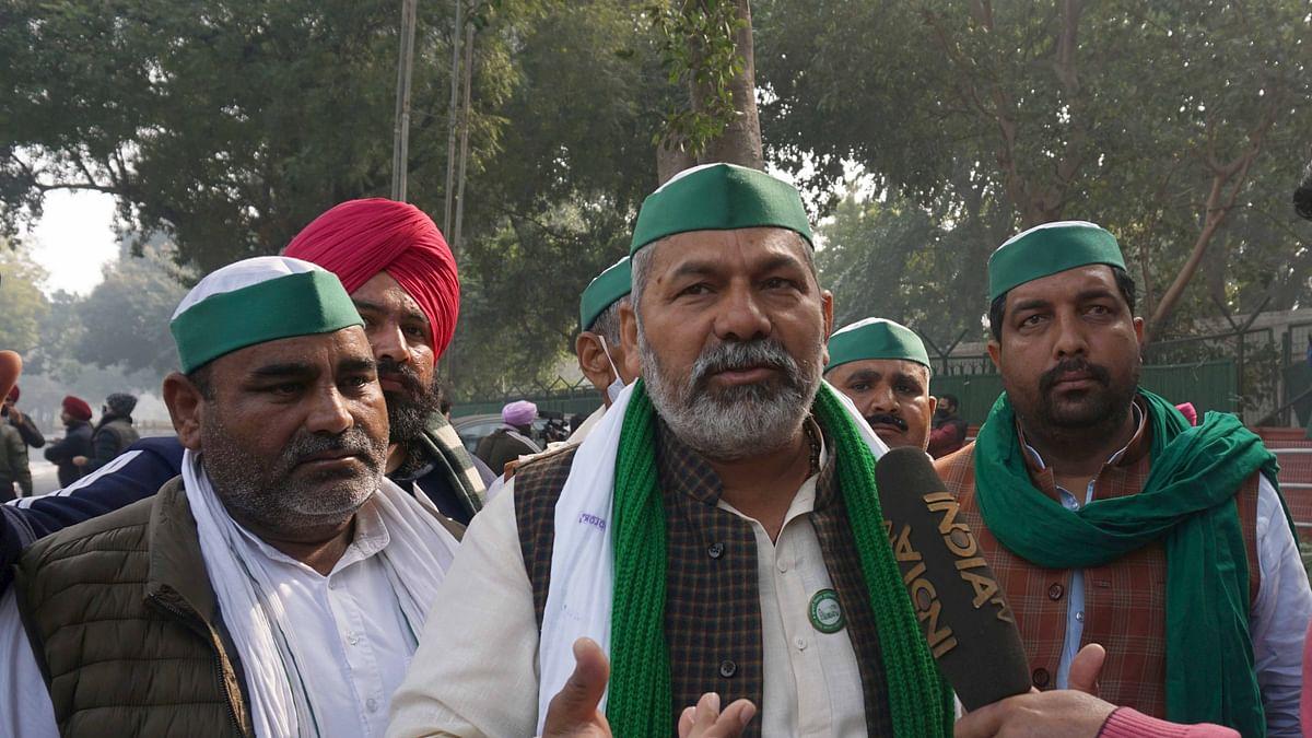 مرکزی حکومت نے کسانوں کو دھوکہ دیا: ٹکیت