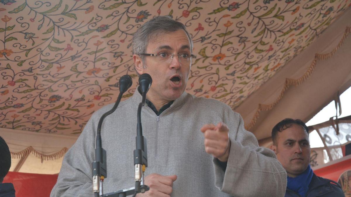 عمر عبداللہ، تصویر آئی اے این ایس