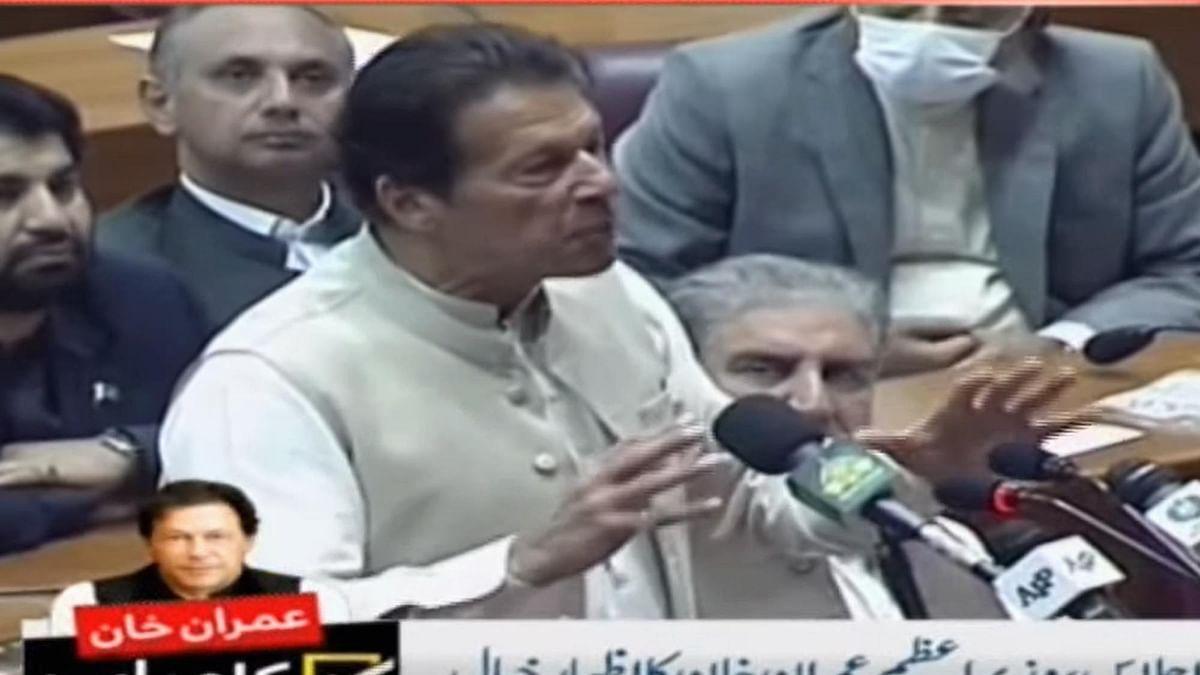 پاکستان: وزیر اعظم عمران خان پر قومی اسمبلی کا اعتماد برقرار، 178 ووٹ کیے حاصل